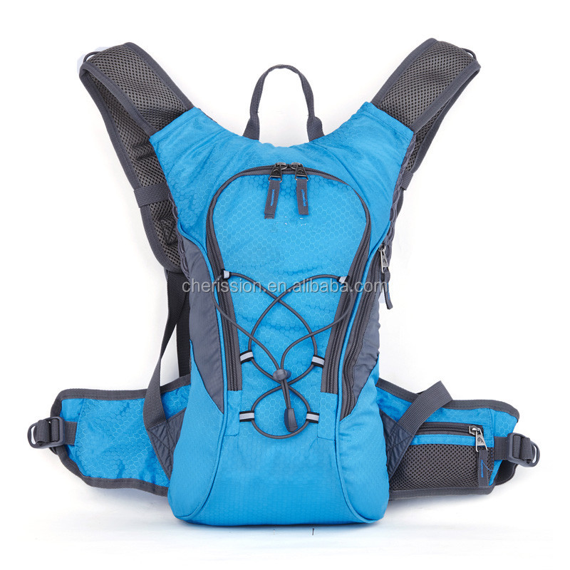 Outdoor backpack hydration bladder pack