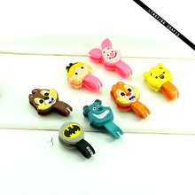 Earphone Cord Holder Promotion Gift, Cheap Custom Cartoon Design Gifts Company Holiday Promotion Product