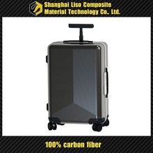 carbon fiber trolley suitcase wholesale luggage