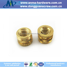 International selling price of brass insert screw nut