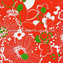 300D Printed Flower Pattern Oxford Fabric For Baby Pram Fabric