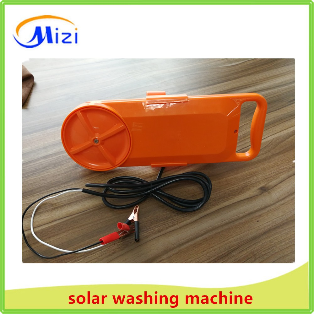 12v dc solar washing machine /portable mini washer