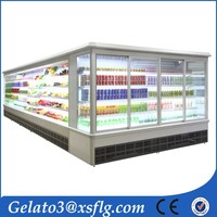 stainless steel air cooler supermarket freezer manufacturer refrigerator and freezer