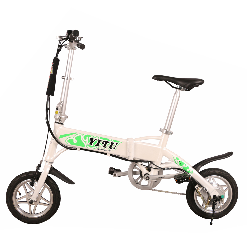 frame hidden battery 2-wheel electric bike 250w <strong>14</strong> / 16 inch mini folding electric bike