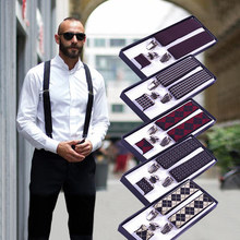 High Quality Men Braces Supports Elastic Adjustable Pants Suspenders Mens Clothing Accessories Men's Suspenders