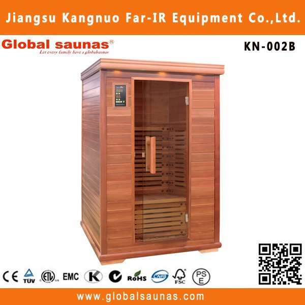 far infrared design two person infrared sauna for home use