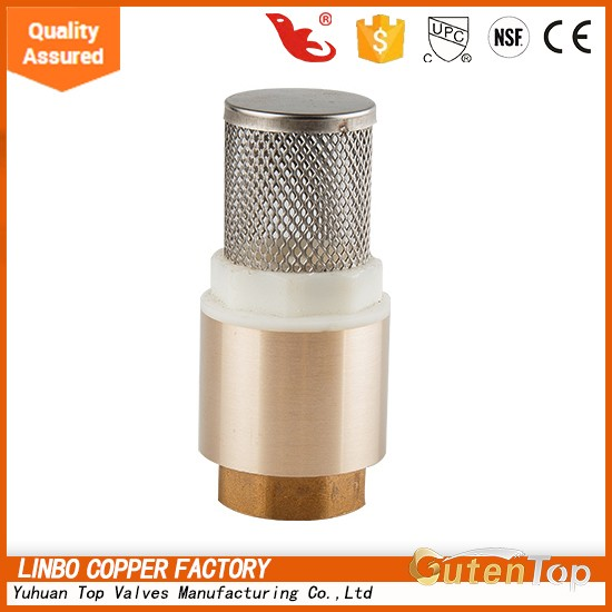 Guten Top Hot Sale Hydraulic united Brass Vertical Check Valve with Good Price