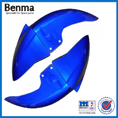 Blue Front Fender for EN125 Motorcycle, EN125 Motorcycle Front Fender Blue Color, China Motorcycle Front Fender for sale!!