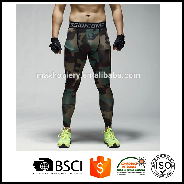 Men's Compression Running Long Tights
