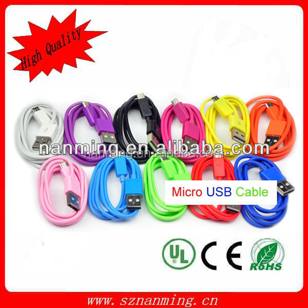 Super Speed 2.0 micro 5pin usb smart cable