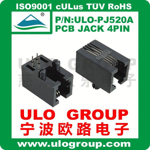 DC power jack in common use for laptop and tablet 0.7mm/1.3mm/1.65mm/2.0mm/2.5mm