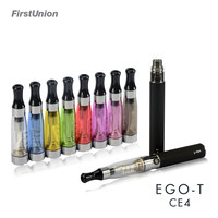 Hot sell 2014 new products elektronische sigaret EGO-T CE4 fully compatible Clearomizer e cigarette wholesale