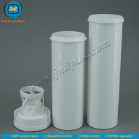 ODM/OEM JND plastic effervescent vitamin tablet tubes with offset printing logo with FSSC22000 certificate