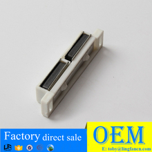 design furniture good quality plastic door catch, double safety latch