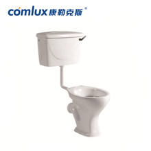 Wholesale elongated siphon flushing composite saving water hotel wc toilet China bathroom toliet for sale