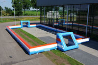 Durable inflatable football field,inflatable area