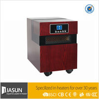 Hot sale Jasun Electric Wooden Cabinet Quartz Infrared Heater IWH-03