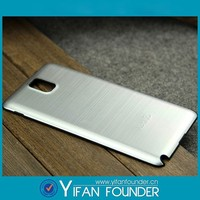 Wholesale brushed metal phone case for samsung note 3