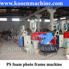 PS foam photo frame profile production making machine