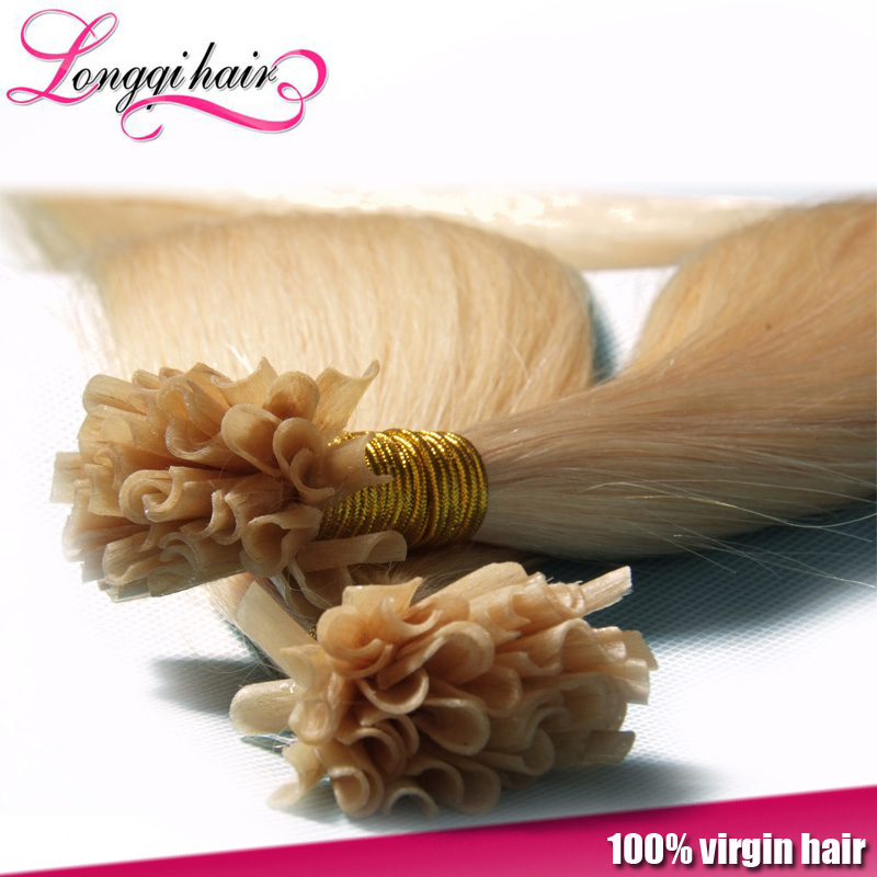 tangle free can be ironed wholesale brazilian virgin hair weaving 100% human hair weave top quality U tip hair extensions
