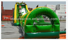 2013 customized giant jumping commercial castles inflatable water slide