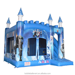 Adult inflatable bouncy frozen castle combo prices for sale, jumping bounce castle
