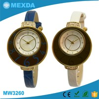 Unique design japan miyota movement pc21 ladies quartz watches