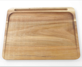 Acacia wood Cutting board with tablet holder