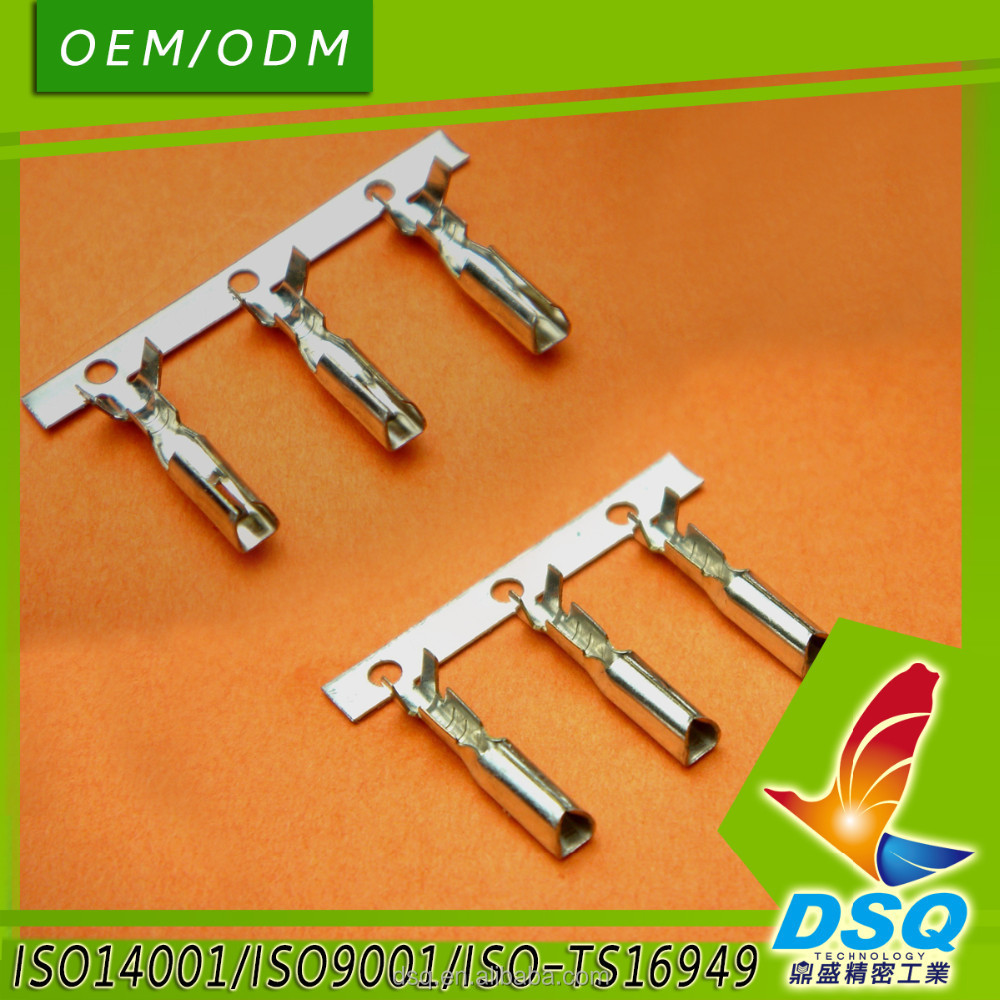 2.36mm Pitch Series Electrical Crimp Connector Terminal