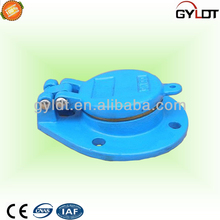 Blue Ductile Iron Flap Valve Metal Flap Valves