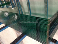 6mm clear High quality Toughened glass / Tempered glass / Safety glass