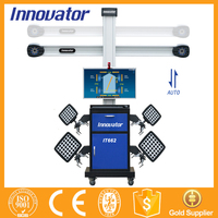 Automatic auto tracking 3d wheel alignment machine price with CE IT662