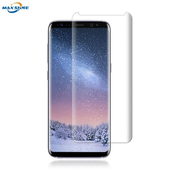 case friendly s8 Screen Protector 3D Full coverage Tempered Glass For Samsung s8 plus screen protector