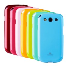 For Samsung Galaxy S3 Cover,Mercury Goospery Jelly TPU Gel Case For Samsung Galaxy S3