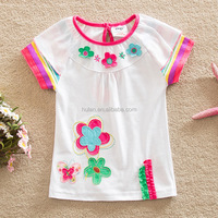 2016 hot sale beautiful girls print cute tshirt