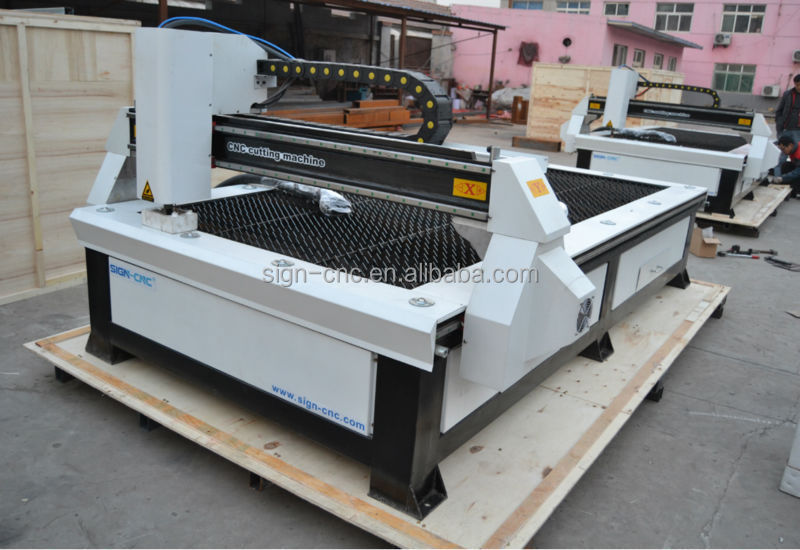 SIGN 1325/1530 cnc plasma cutter/metal cutting machine for steel