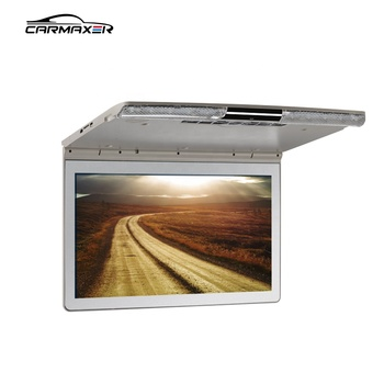 17.3inch ceiling mount roof mount car media player with tft lcd monitor