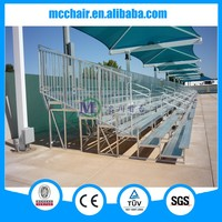 2016 7 rows aluminium bleacher, 7F gym seating metal grandstand seating soccer seat for stadium, aluminum scaffolding for sale