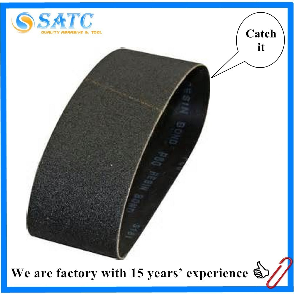 High efficient sanding belt abrasive paper for Weld grinding