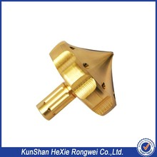 Small batches CNC machining turning brass parts with high polished rapid prototyping