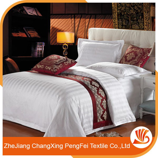 Wholesale cheap flat bed sheets used for hotel