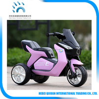 Kids electric motor bike kids ride on plastic motorcycle riding toy