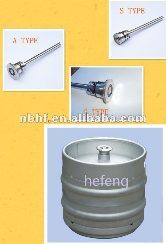 stainless steel cask and barrel parts