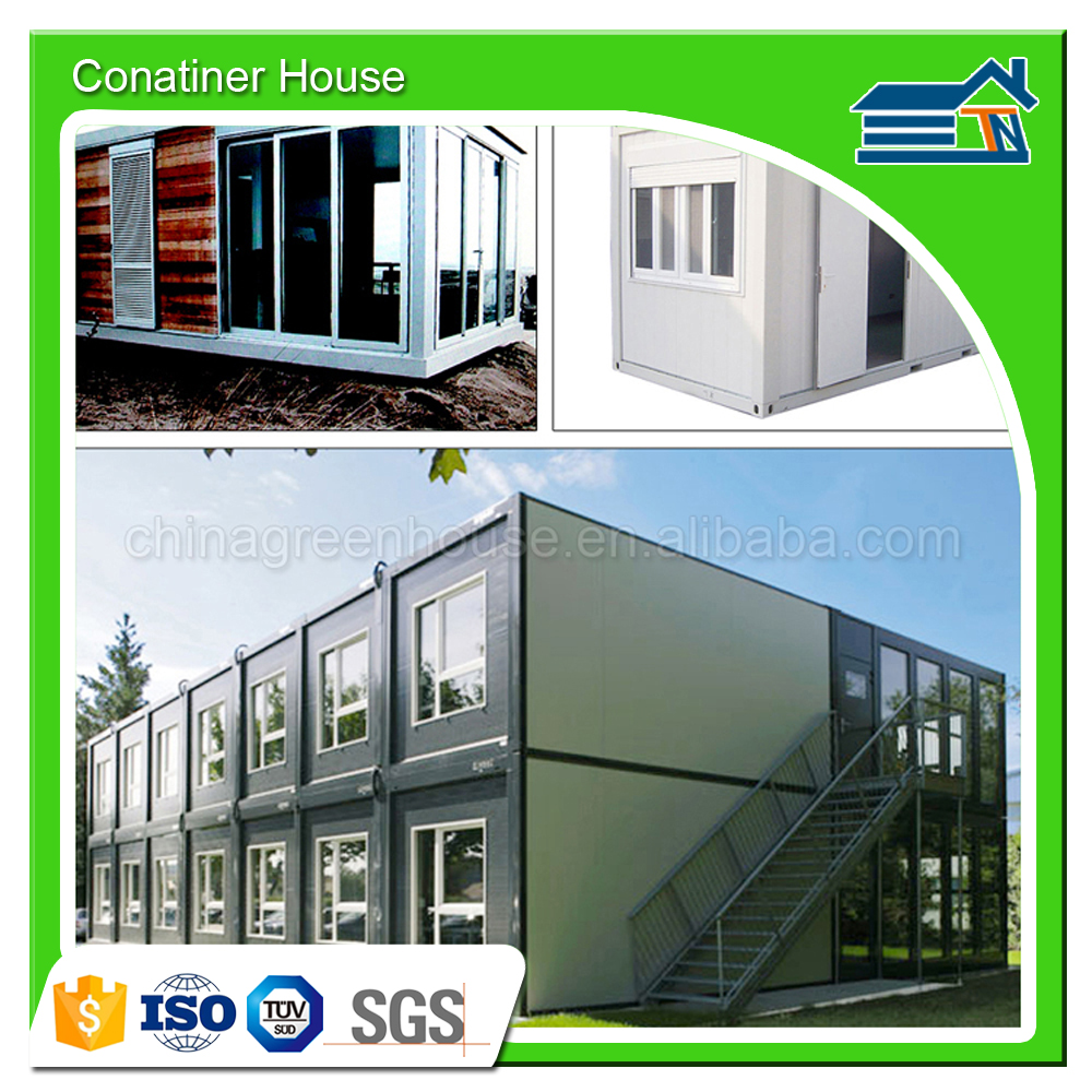 Safe Durable Cost 20ft prefabricated mobile welding container house for living