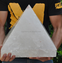 Hot sale Super Huge natural rock quartz crystal pyramid point