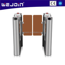 RFID Card Reader Access Control Full Automatc Flap Barrier Flap Gate Card Reader Turnstile