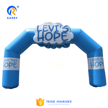 Hot sale! Advertising promotional arch, inflatable arch for outdoor activities