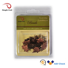 Maple Leaf shaped decorative metal brads decorative fasteners for gift