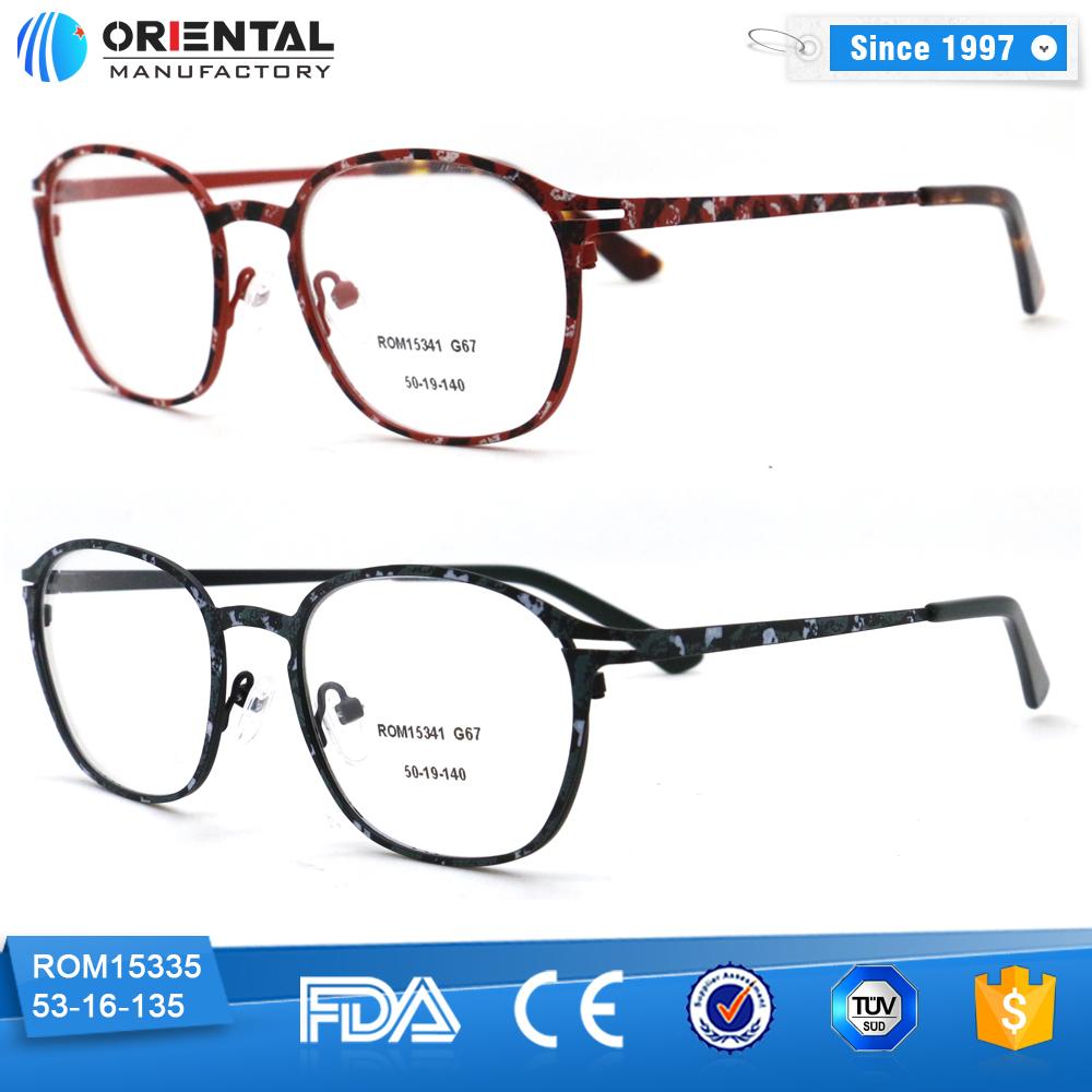 Ultrathin Metal Frame Colorful Eyewear Frame - Buy Eyewear ...