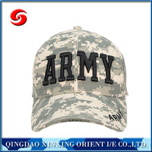 High quality custom Military baseball cap/army baseball cap/camo cap